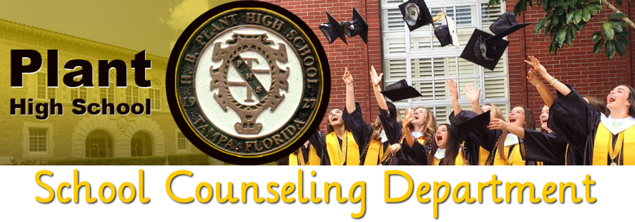 H. B. Plant High <br />School Counseling Department